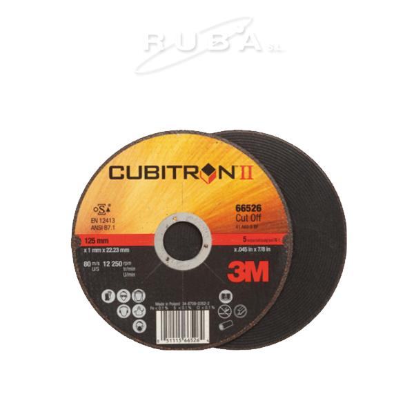 DISCO DE CORTE CUBITRON