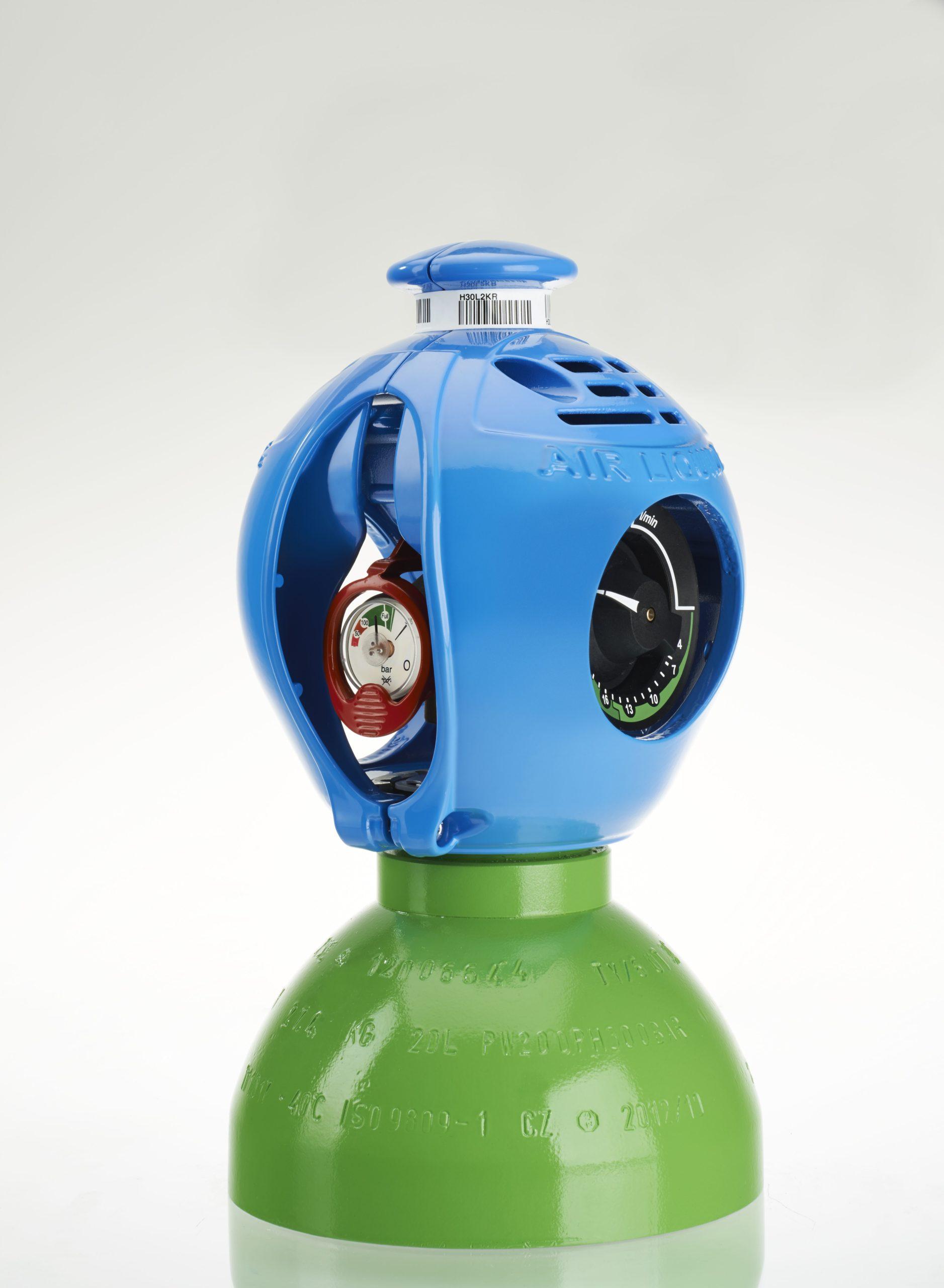 Botella de gas industrial EXELTOP