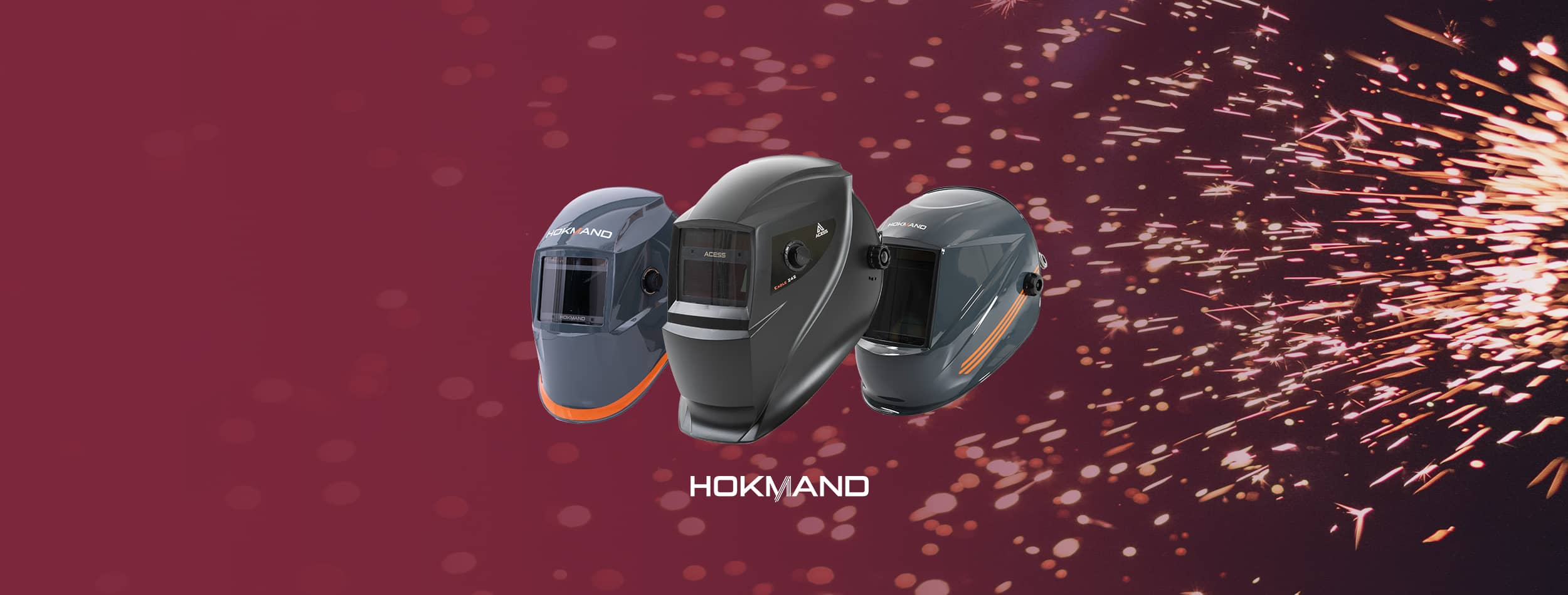 Pantallas automaticas de soldadura Hokmand